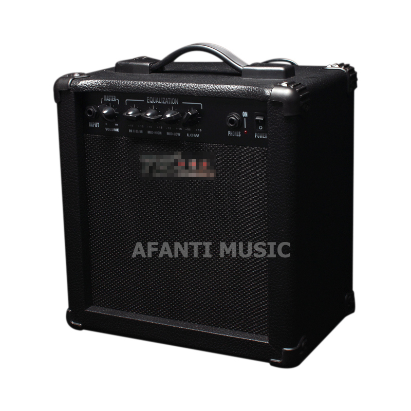 Afanti Music Electric Bass Amplifier (AMP-121) afanti music gib es335 style 4 strings bass guitar es335 b27