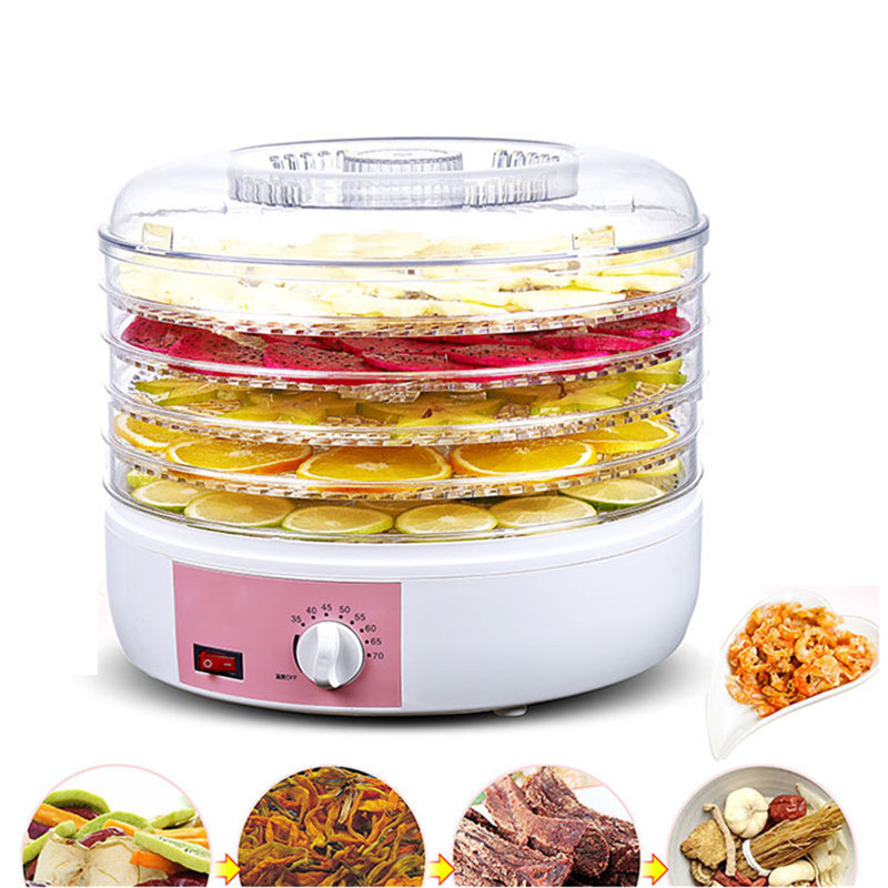Good Quality electric 5 trays food dryer home mini fruit food dehydrator small fruit drying machine for saleGood Quality electric 5 trays food dryer home mini fruit food dehydrator small fruit drying machine for sale