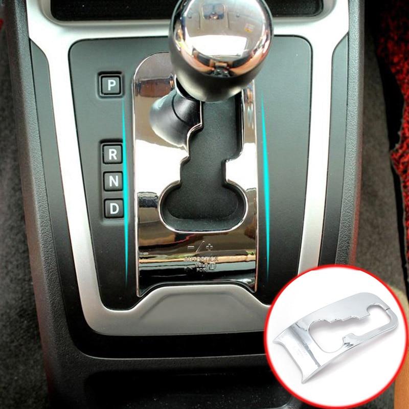 Compass 2011-2016 Chrome Shift Gear Panel Cover Trim Bezel For Jeep Patriot