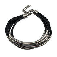 2014-New-fashion-leather-bangle-bracelets-with-stainless-steel-components-for-women-jewelry-Free-shipping.jpg_200x200