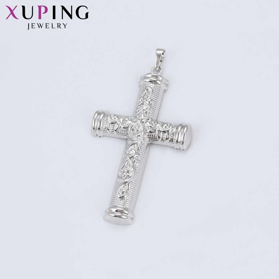 Xuping pour les filles Style européen pendentif en forme de croix élégant bijoux de mode cadeaux saint valentin S105, 6-34583