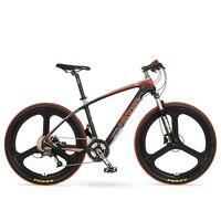 Kohlefaser berg bike27 geschwindigkeit variable licht gewicht T700 carbon rahmen hydraulische scheibenbremse 26 zoll aluminiumlegierung ri-in Fahrrad aus Sport und Unterhaltung bei