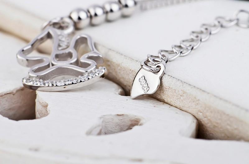 silver charm anklet or bracelet 2