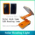 Protable AC/ Solar Charging 24 LED Folding Solar Table Lamp Touch LED Reading Light X 60