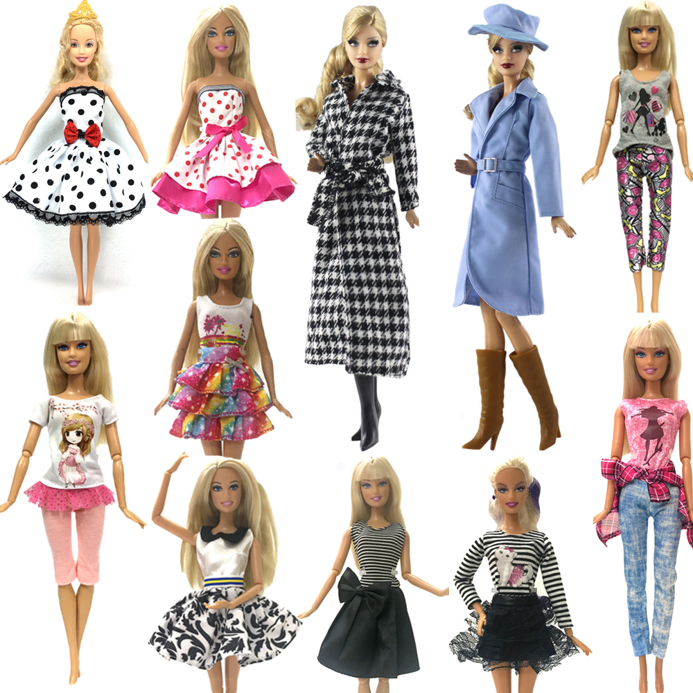 NK 2019 Newest Doll Outfit Beautiful Handmade Party ClothesTop Fashion Dress  For Barbie Noble Doll Best Child Girls Gift JJ1 0a415faa7358