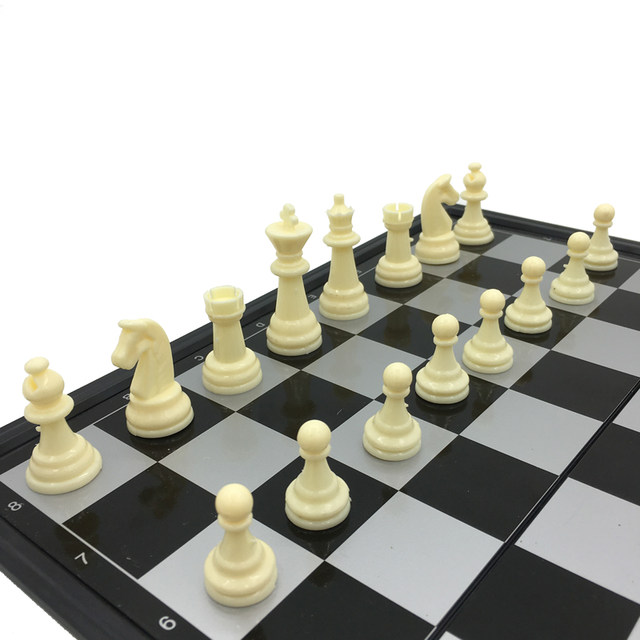 31cm * 31cm Table Chess Board Magnetic Chess Magnetic Folding Board Adult  Children Training Black And White Chess S.M.L3 Size