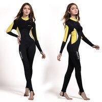 Hisea 1 шт. водолазный костюм 0.5 мм Lin Tai с длинным рукавом Одежда заплыва костюм женщина солнцезащитный крем Медузы подводное плавание любителе