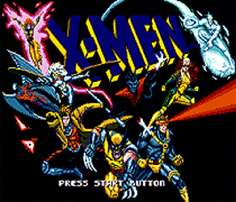 X-men 16 Bit Mega Drive Game Card For Sega Genesis Video Game Console
