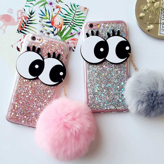 iphone 7 plus phone case fluffy