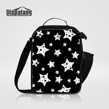 Dispalang cool star kids thermal food picnic bags insulated cooler bag for women adult lunchbox 2017 lancheira thermo lunch bags