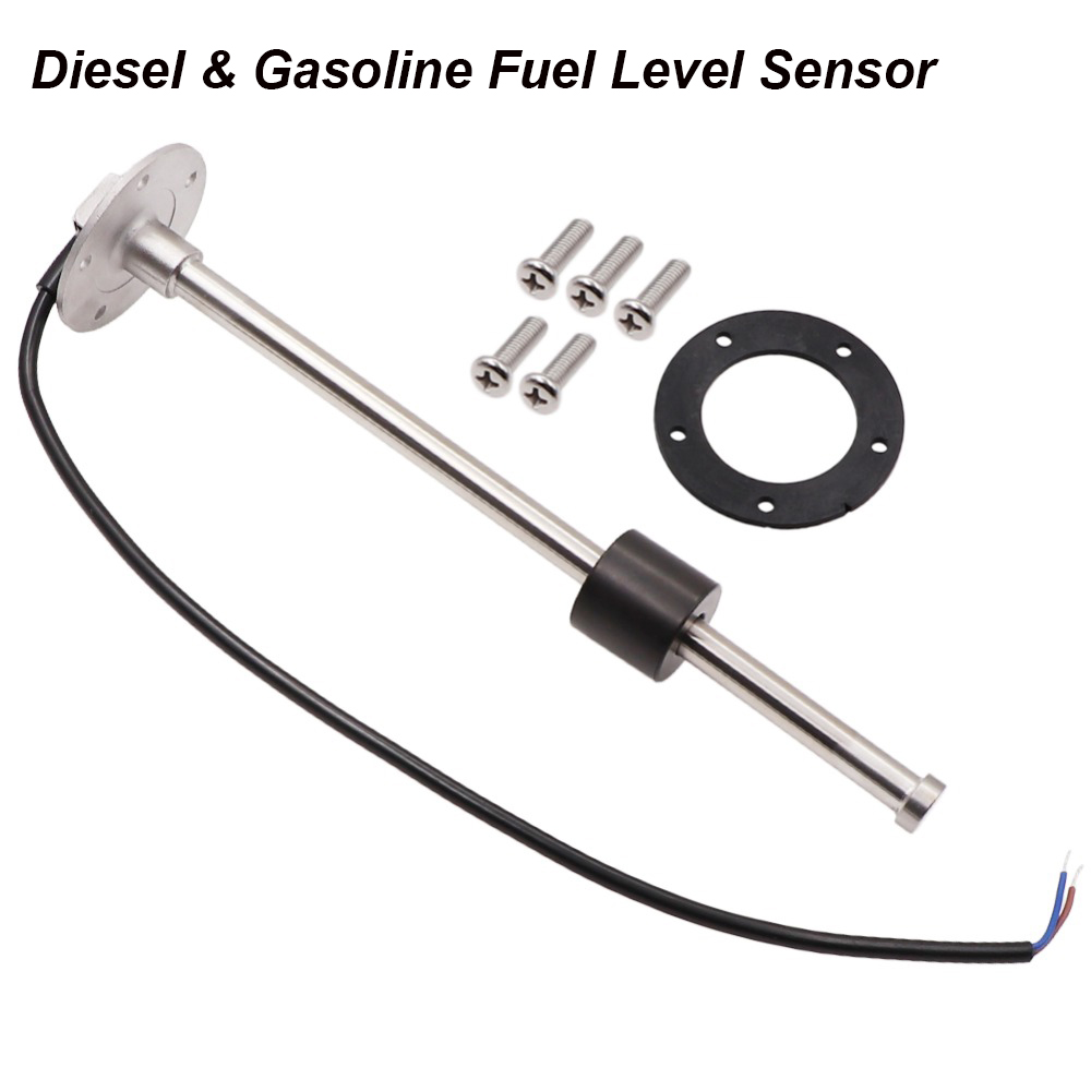 DIESEL FUEL TANK SENDER 18 INCH STAINLESS STEEL SAE 5 HOLE WITH GASKET MARINE