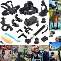 centechia Sports Action Camera accessories 12 in 1 Set Family Kit Go Pro SJ4000 SJ5000 SJ6000 acces