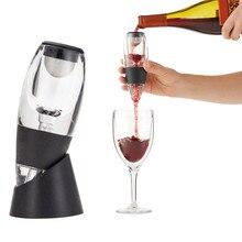 Nueva Moda Aireador de Vino Decantador Set Fiesta Familiar Hotel Wine Pourer de Aireación Rápida Jarra Mágica HG99