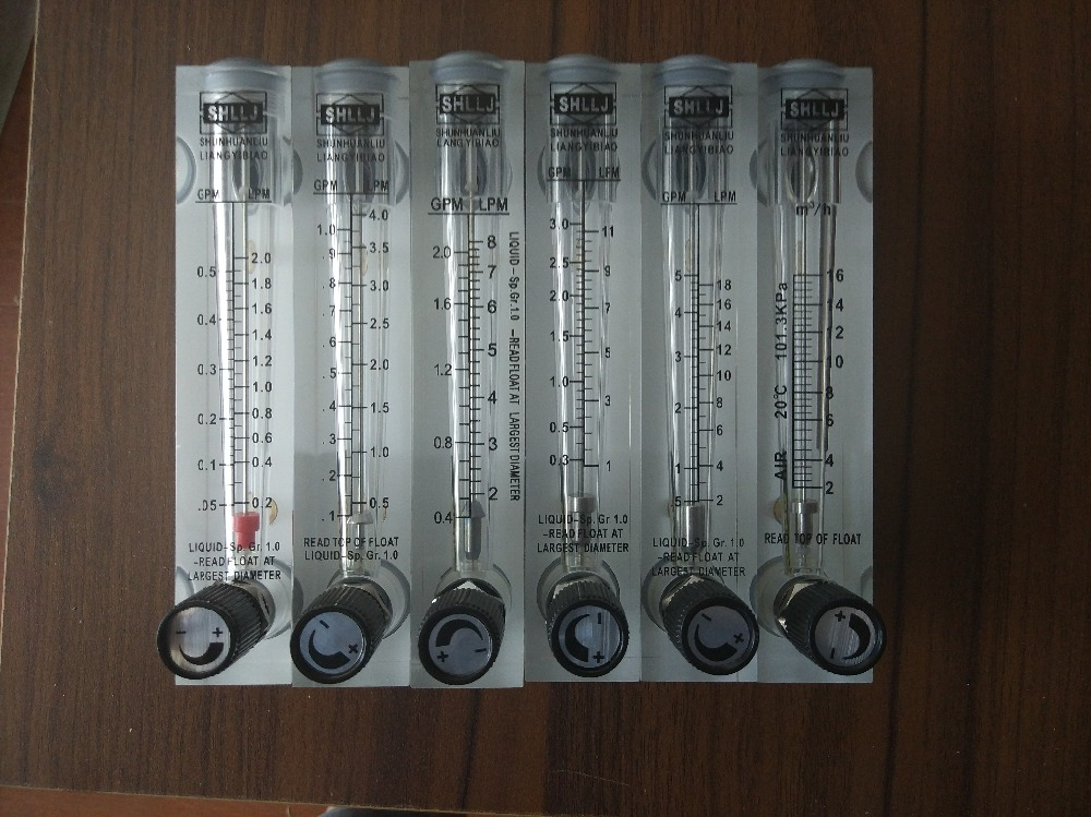Flussimetro tipo LZM-15 (flussimetro) per gas / aria con valvola di - Strumenti di misura - Fotografia 2