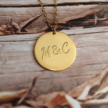 Engraved Handmade Jewelry Bridesmaid Gift Any Letter Custom Name Personalized Necklaces Women Silver Gold Circle Choker Necklace handmade custom jewelry any personalized name necklaces women men silver gold rose choker necklace engraved bridesmaid gift idea