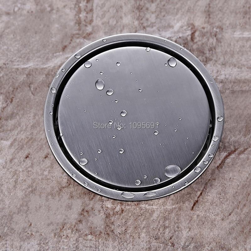 Tile Insert Round Floor Waste Grates Bathroom Shower Drain ...