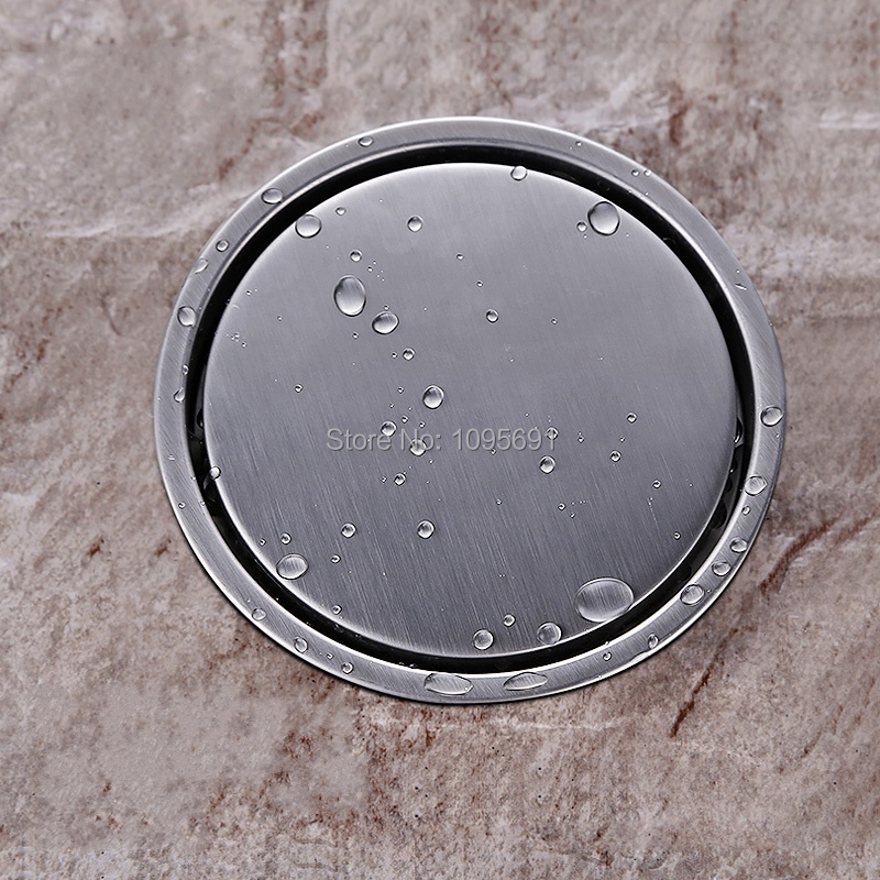 tile insert round floor waste grates bathroom shower drain diameter 149mm 304 stainless steel floor
