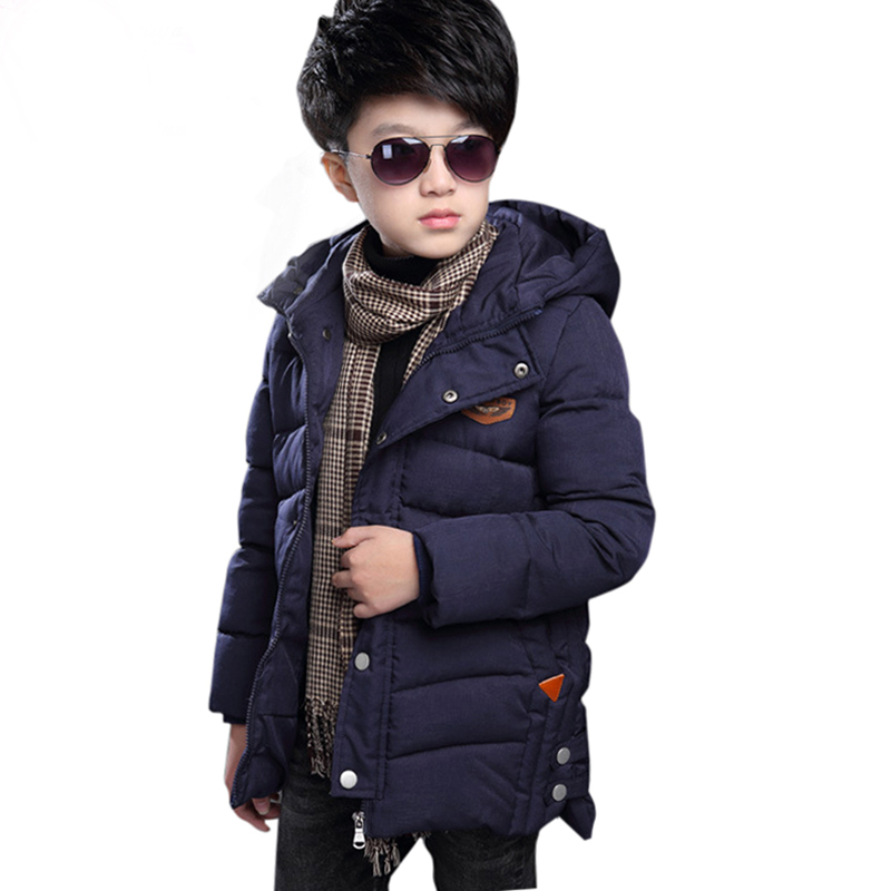 Brand Winter Children Jacket&Coat For Boys New Arrivals Fashion Hooded Outwear Kids Down Coat Padded-Cotton Boy Clothes Outwears new 2018 children winter jacket for boys fashion fur hooded thick cotton padded boy long coat parka kid clothes outwears