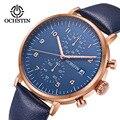 Мужские часы водонепроницаемые ультра-тонкие кварцевые модные повседневные деловые часы с ремешком высококачественные водонепроницаемые...