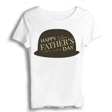Gift Father Fathers Day T Shirt Women Sexy & Club Vintage t shirt Own Logo Print T-shirts Casual Appliques Short