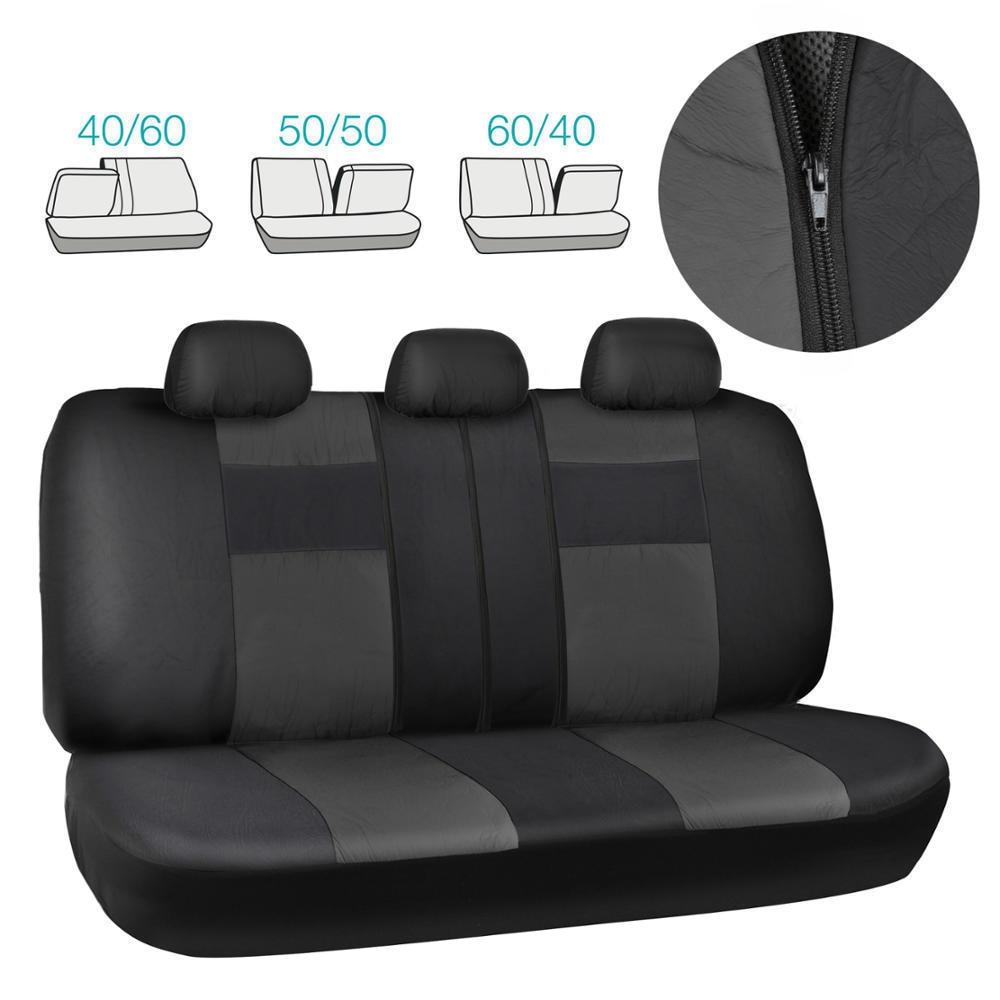 Universal auto Leather Car seat cover For Ford Fushion Focus Fiesta Edge Explore automobiles car accessories styling seat|Automobiles Seat Covers| |  - title=