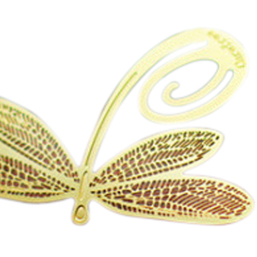 Affordable Bookmark Gold dragonfly sheet metal gift souvenir book reading various forms