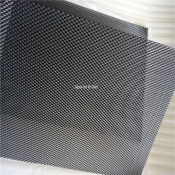 Iridium oxide base MMO coated Titanium Mesh diamond shape Size: 450 mm x 50 mm x 1.8 mm,5 pcs wholesale price,free shipping стоимость