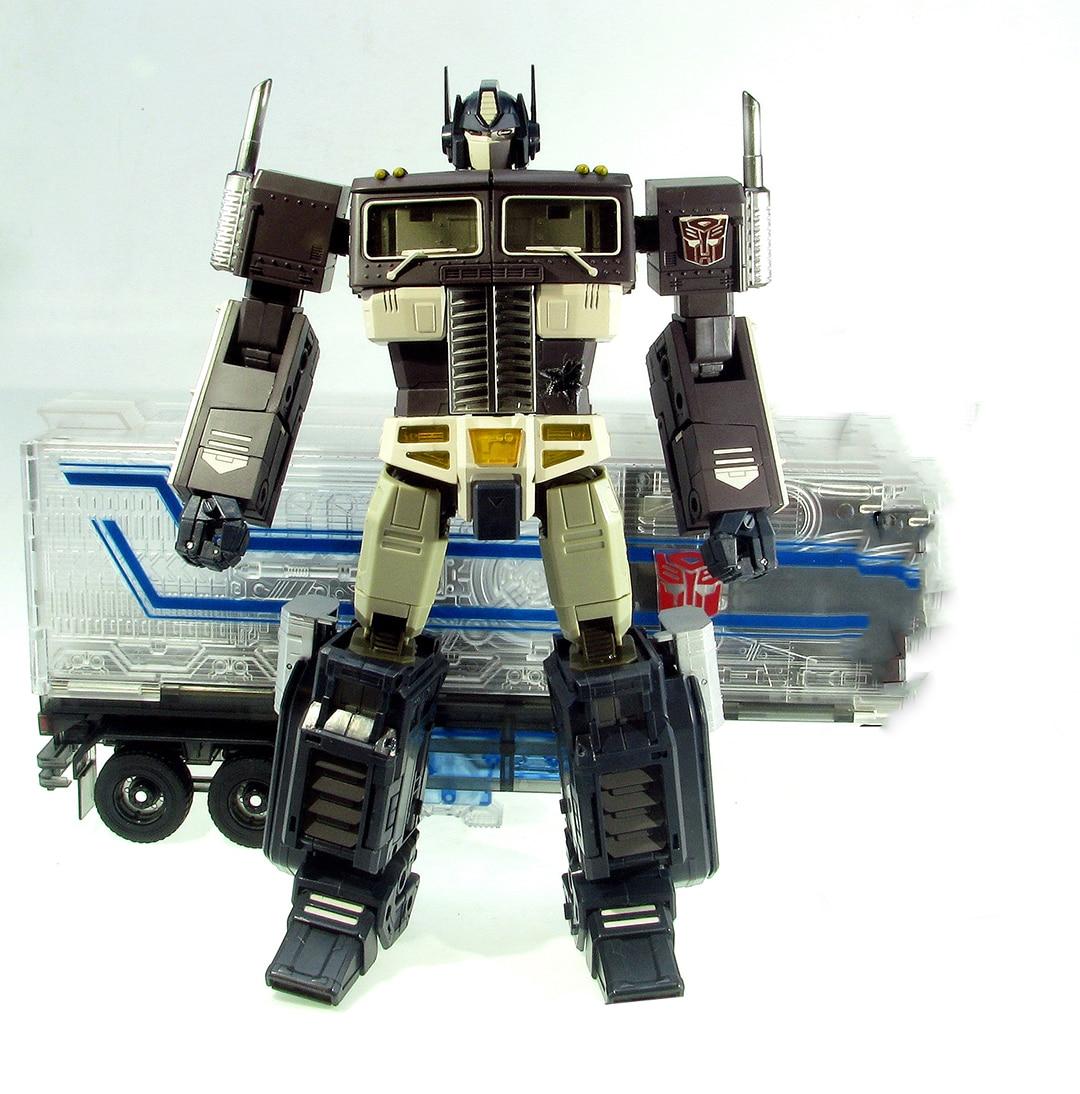 Lensple Transformation MP10S échelle KO noir Optimus OP avec compartiment déformation figurine Robot jouets