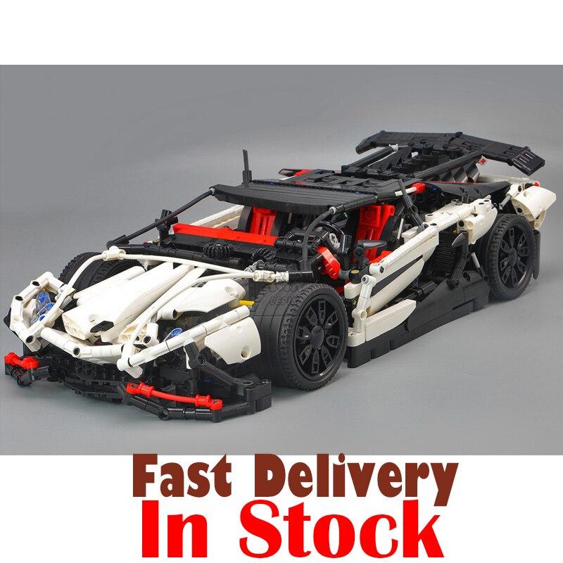 LEPIN 23006 Aventador LP 720-4 Pirelli Edition Technic Building Blocks Bricks Toys For Children brinquedos 2838PCS legoINGly MOC