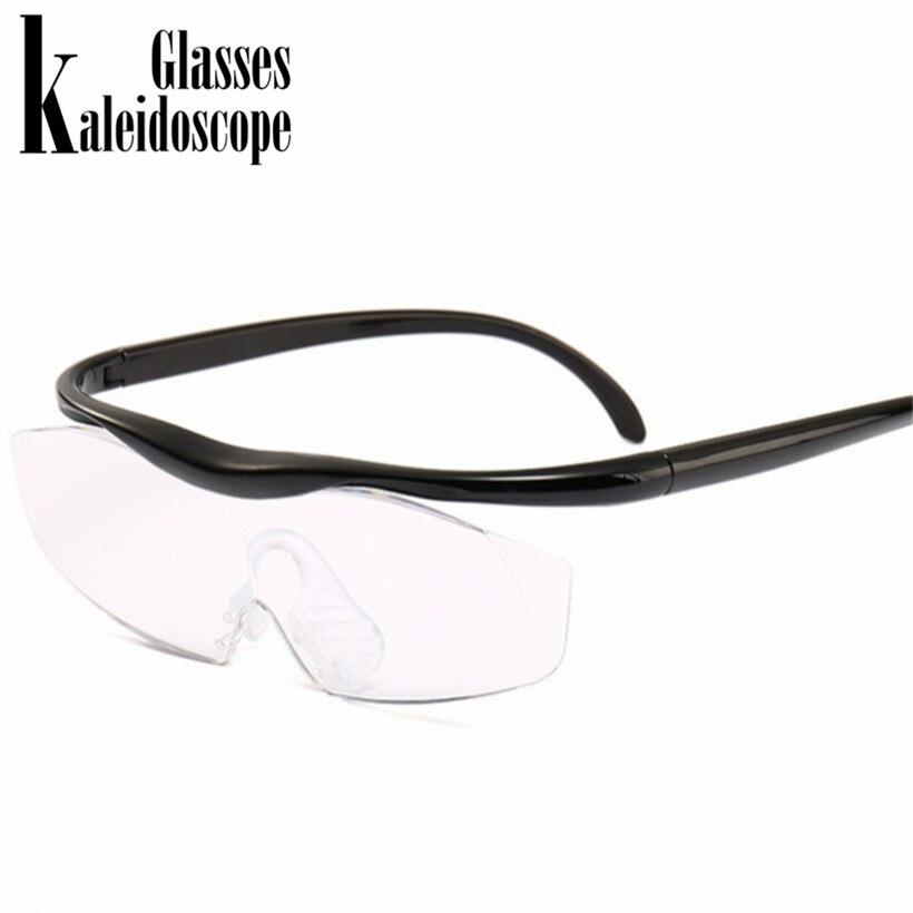Sinnvoll Kaleidoskop Gläser Mode Große Vision 1,8 Mal Lesebrille Vergrößert Vision Vergrößerung Objektiv Presbyopie Brillen + 300 Um Jeden Preis
