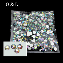 1000pcs/pack 4mm Hot Fashion Shiny Acrylic Nail Art Glitter Charm AB Rhinestone Nail Tools DIY Beauty Decoration