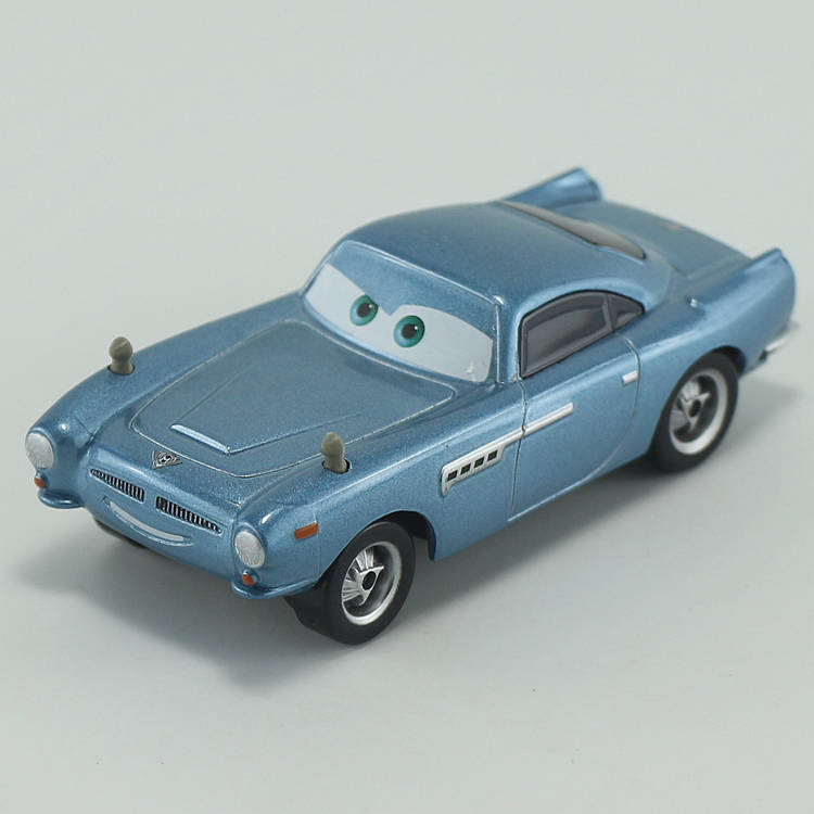 Disney Pixar Cars Finn McMissile 1:55 Scale Diecast Metal Alloy Modle Cute Toys Car For Children Gifts