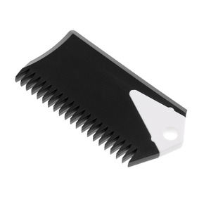 8.5cm Surfboard Wax Comb SUP Surf Board Wax Remove Comb With Fin Key Black for Water Sports Surfing Surfboards Bodyboard Black