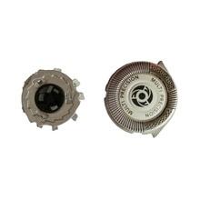 SH50/52 сменные головки двойной точность серебро поверхности лезвия для Philips Norelco Электронные бритвы серии 5000