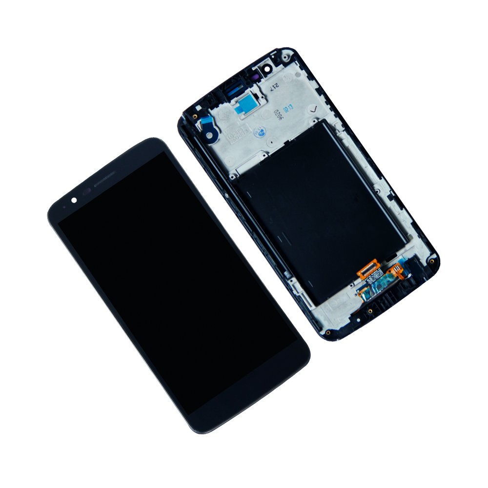 Touch Screen Digitizer LCD Display For <font><b>LG</b></font> Stylus 3 M400AR M400DK <font><b>M400DY</b></font> LS777 With Frame Assembly Mobile Phone LCDs Repair Parts image