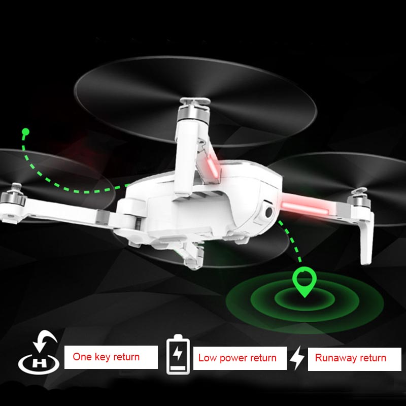 Image 3 - Folding Drone 4K HD camera Gesture photography  Long endurance Mini UAV One key return-in RC Helicopters from Toys & Hobbies