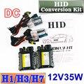HID Kit de Conversión de XENÓN DC 12 V 35 W Lámpara de Lastre Delgado H1 H3 H7 Linterna Del Coche Del Bulbo 4300 K 6000 K 8000 K 30000 K