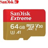 SanDisk Memory Card Extreme MicroSD UHS I MicroSDXC Class10 U3 100 MB S 32GB 64GB TF