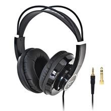 FREEBOSS HP288 Hi Fi Headphone Semi-Open Over-ear 3.5 6.3 plug Adjustable and Light Weight Headband HiFi Headset Headphones