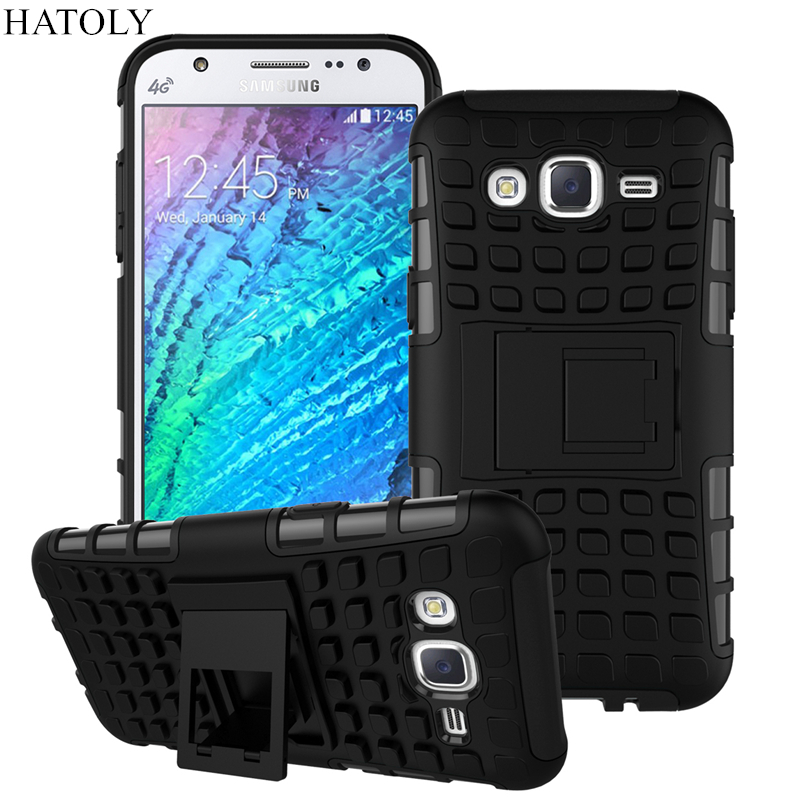 For Samsung Galaxy J5 Kickstand Case Heavy Duty Armor Shockproof Hybird Hard Soft Silicon Rugged Rubber Cover j5 Case