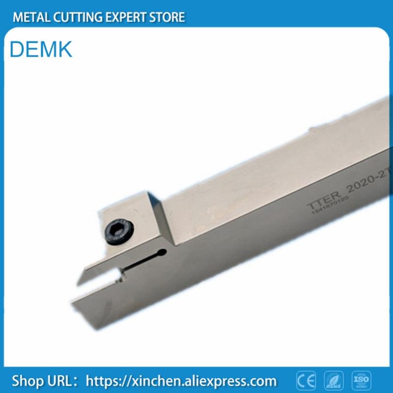 Lathe cutter TTER2020-2T17,TTER2020-3T20,for TaeguTec TDC2,TDC3/TDJ2,TDJ3,Spring steel,external,Grooving knife,CNC car knife best price mgehr1212 2 slot cutter external grooving tool holder turning tool no insert hot sale brand new