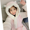 New 5 Styles High Quality Ladies'  Night Robes Women Flannel Robes Lovely Couple Home Wear Nice Valentine Confession Gifts