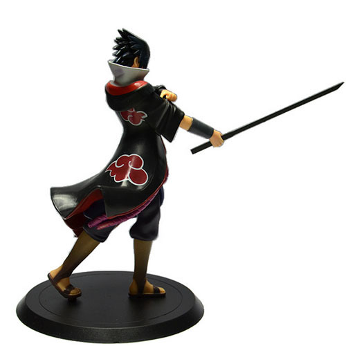 7″ 17cm Naruto Shippuden Sasuke PVC Action Figure Collectible Toy