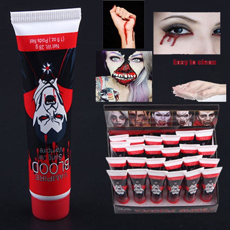 Fake Blood Simulation Surreal Simulae Blood Plasma Clothing Cosplay Fake Plasma Hematopoietic Props Terrible Reality