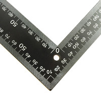 Free Shipping 1 Pcs Crop Tool Cowhide Leather Special Type Right Angle Ruler Tool Dedicated Ruler