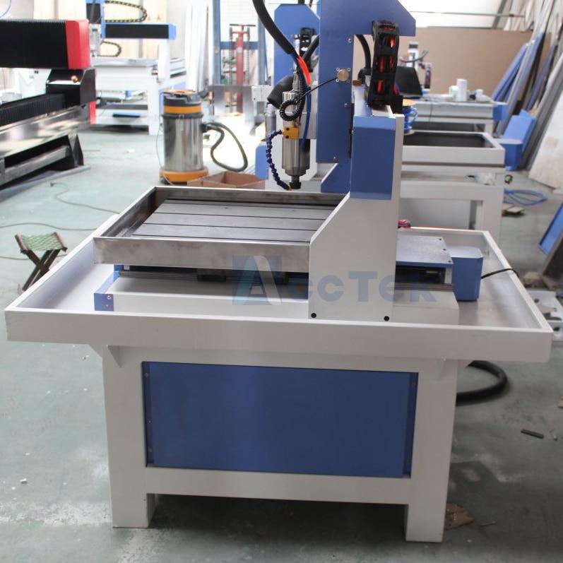 Shandong AccTek machine de découpe de CNC modèle à grande vitesse pour modèle de chaussure avec certification CE - 3