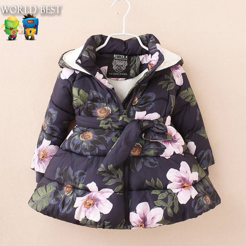 Winter Girls Clothes Girl Winter Jackets Coat Children Winter Jackets For Girls Wadded Jacket Child Down Outerwear Thickening girls down coats girl winter collar hooded outerwear coat children down jackets childrens thickening jacket cold winter 3 13y