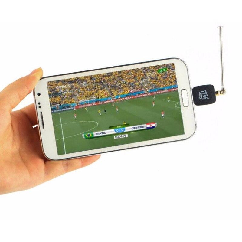 Новое прибытие Micro USB Цифрового Мобильного ТЕЛЕВИДЕНИЯ HDTV Тюнер Мини DVB T Спутниковый Приемник для Android DVBT Dongle с Антенной купить на AliExpress