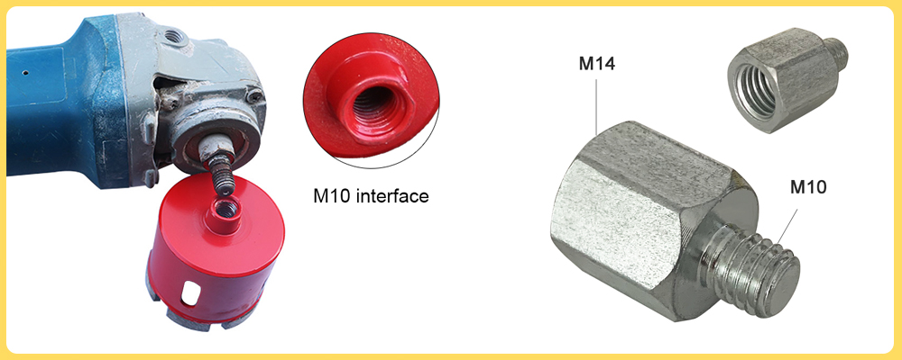 M10 to M14 adapter
