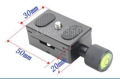 Digital SLR Camera 2in1 1 set 1PCS 30mm Quick Release Plate + 1PCS Metal Clamp for Benro Arca Swiss Benro Kirk Tripod K30 штатив benro t 800ex